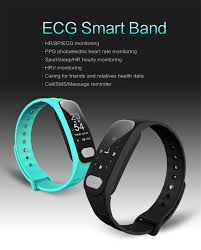 monitoring health bracelet images Ecg ppg smart watch wristband band bracelet heart rate monitor jpg