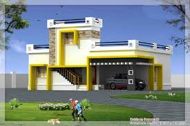 download single floor home front design in kerala adhome