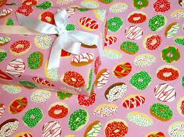 where to buy pretty wrapping paper donut christmas gift wrap gift wrap gift wrap