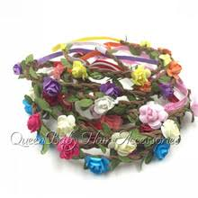 hippie flower headbands popular flower crown hippie buy cheap flower crown hippie lots