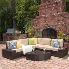 living room santa cruz outdoor piece wicker sofa set by