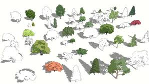 2d trees pack sketchucation
