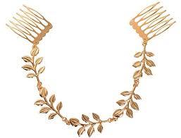 leaf chain necklace images Yueton 2pcs fashion ladies athena olive branch tassel leaf chain jpg