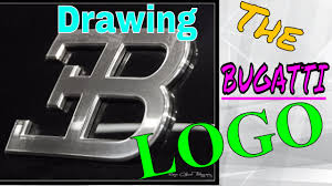 bugatti symbol how to draw the bugatti logo youtube