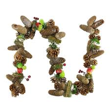 5 u0027 decorative red berries fruit and pine artificial christmas