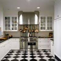rooms with black and white tile floors hungrylikekevin com