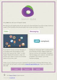 rapport digital responsive email templates matthew clipson