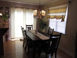 enthralling dining room curtains stylish window treatment ideas