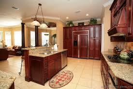 Dark Cherry Kitchen Cabinets 34 Best Kitchen Paint Colors Images On Pinterest Cherry Wood