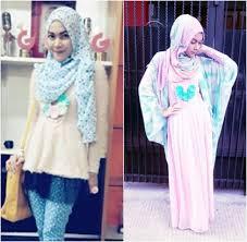 tutorial hijab noura hijab style gaya girlie personel grup vokal noura laili meutia
