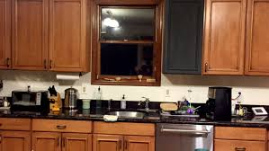 graphite chalk paint kitchen cabinets how 500 and some chalk paint totally transformed this kitchen