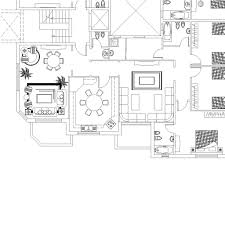 apartments building typical floor plan cad files dwg files