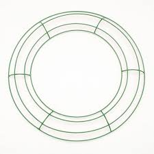 wreath forms metal wreath forms 12 inch green wire frame