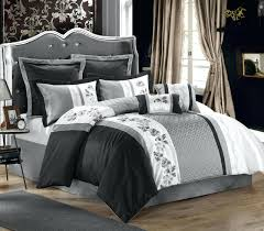 Pink And Grey Comforter Set Black And White 4 Piece Comforter Set With Pink Sets Canada U2013 Euro