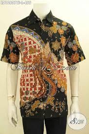desain baju batik halus model baju batik solo elegan lengan pendek keren full furing bahan