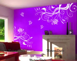 Purple Wall Decals For Nursery Interesting Design Ideas Room Decals Simple Decoration Butterfly