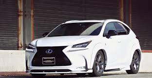 lexus nx hybrid commercial lexus nx suv gets acc air suspension and widebody kit video