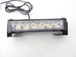 dc12v high power 6 led strobe lights network led warning light l