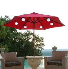 Solar Light Patio Umbrella by Decor Fresh Rectangular Patio Umbrella With Solar Lights Ideas