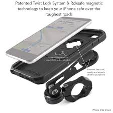 amazon com rokform iphone 6 6s plus pro series motorcycle mount