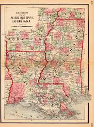 Louisiana Mississippi Map by File Louisiana Mississippi Colton Atlas 1864 Jpg Wikimedia Commons