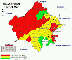 Gujarat India Map by Rajasthan India District Rain Map India Reliefweb