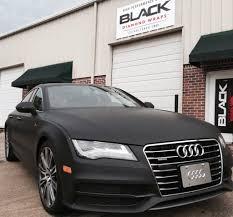 matte black matte black vinyl wrap 3m preferred graphic installation