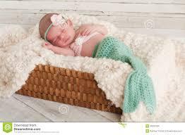 newborn costumes newborn baby in mermaid costume stock photo image of baby girl