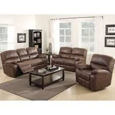 Leather Reclining Sofa Sets Sale Hydeline By Amax Westminster Ii Top Grain Leather Brown Power