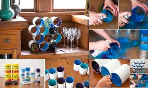 home design diy diy wine bottle rack made from coffee cans home design garden