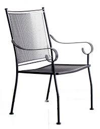 metal patio chair create a unique environment through metal patio