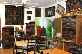 Antique Rug Hooking Tools The Best Rug Hooking Studio Ever Rhonda Manley U0027s Black Sheep Wool