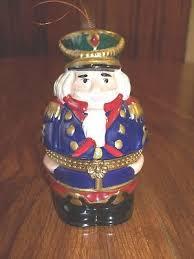 mr porcelain nutcracker box tree ornament ebay