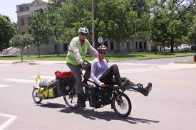 Michigander Bicycle Tour Michigan Trails And Greenways Alliance Bobby And Thane Tackle The Transam Day 34 Nickerson To Larned