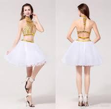 high school graduation dress homecoming dresses vestido de formatura golden color