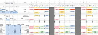 Monthly Budget Excel Spreadsheet Fully Automated Excel Spreadsheet Budget Budgeting Guide