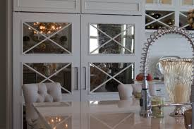 Kitchen Cabinets With Glass Glass Door Cabinets Mirrored Cabinetry Dura Supreme