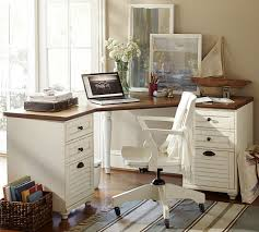 Computer Desk For Corner Whitney Corner Desk Set Pottery Barn