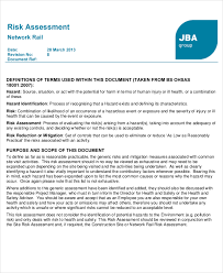 Network Risk Assessment Template network assessment template 6 free excel pdf documents