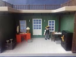 le bureau banquier playmobil le banquier dans bureau avec mobilier