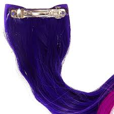 purple hair extensions kids purple ombre hair extension clip s us