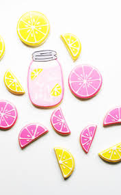 Recipe Decorated Cookies Pink Lemonade Decorated Sugar Cookie Recipe Best Friends For