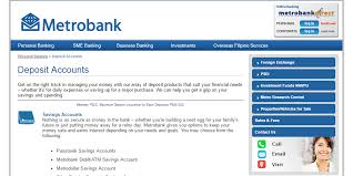 how to open a savings account in metrobank philifaqs