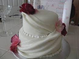 wine country cakes draped wedding cake