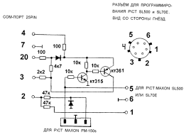 schematics of radios schematic of programmer radio programming