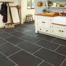 Tiled Kitchen Worktops - backsplash slate tiles for kitchen rustic black slate floor