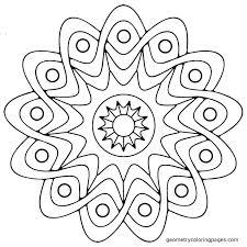articles easy mandala coloring pages printable tag mandala