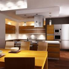 Open Kitchen Island Cool Large Open Kitchen With Rectangle Shape Wooden Kitchen Island