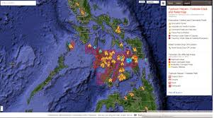 Google Maps Engine Lite Crisis Response Map For Typhoon Haiyan In The Philippines 2013