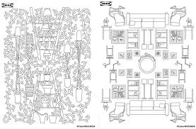 download ikea u0027s coloring book for free 6sqft